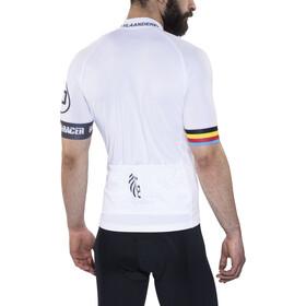 Bioracer Van Vlaanderen Pro Race Pyöräilypaita Miehet, white